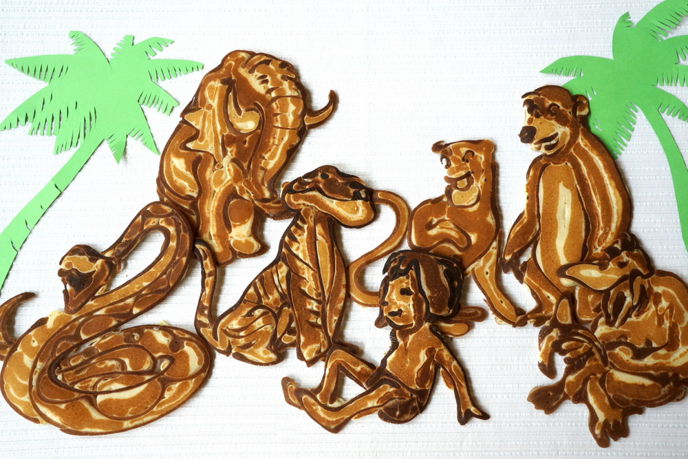 Jungle Book Pancakes